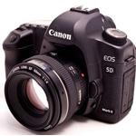 Canon 5D Mark II giảm giá sau khi ngừng sản xuất