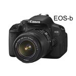 Lộ diện Canon EOS-b: 18MP, lấy nét lai, DIGIC 5, màn hình cảm ứng, giá 800$