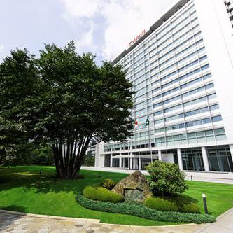 Hình ảnh đại bản doanh của Canon ở Nhật