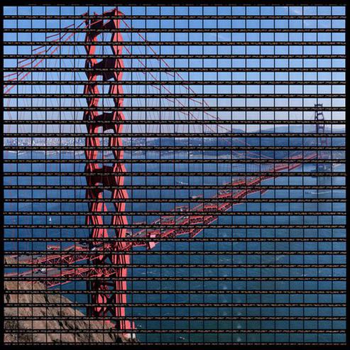 Ảnh panorama 'độc' ghép bằng phim 35 mm