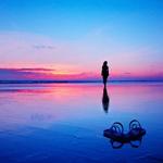 Tuyệt đẹp cảnh hoàng hôn trên biển
