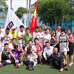 Đội bóng Công ty Lê Bảo Minh xuất sắc giành ngôi Quán quân Đại Hội TDTT Quận 1 môn Bóng đá Nam