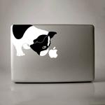 Sáng tạo với logo 'táo khuyết' trên MacBook