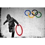 Tranh giàu ý nghĩa của họa sĩ đường phố tài hoa nước Anh