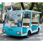 Xe điện chạy bằng năng lượng mặt trời do sinh viên Việt Nam chế tạo