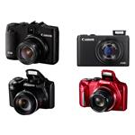 Canon giới thiệu PowerShot G16 có Wi-Fi, S120 ống kính f/1.8, 2 máy siêu zoom
