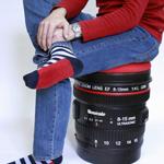 """Xuất hiện ống kính Canon DSLR """"khổng lồ"""""""