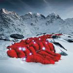 Những bức ảnh chưa từng có trên đỉnh Alps