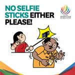 Gậy selfie bị cấm ở giải bóng đá AFF Cup 2014