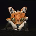 Tác phẩm body painting mô tả động vật