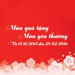 Mùa quà tặng yêu thương
