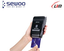 Mobil Printer – Made in KOREA LK-P22SB (USB + IOS Bluetooth)
