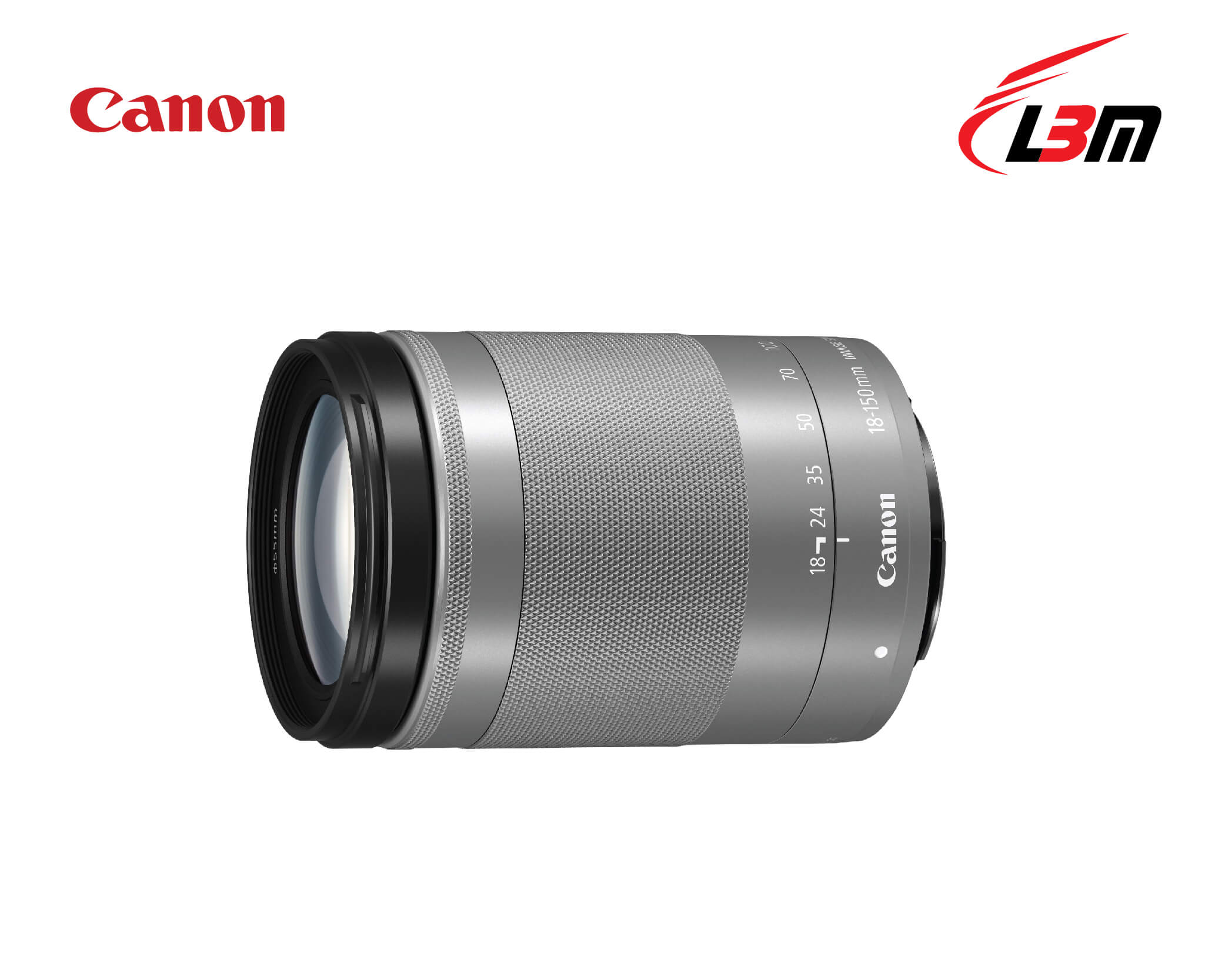 Ống kính Canon EF-M18-150mm f/3.5-6.3 IS STM (SILVER)