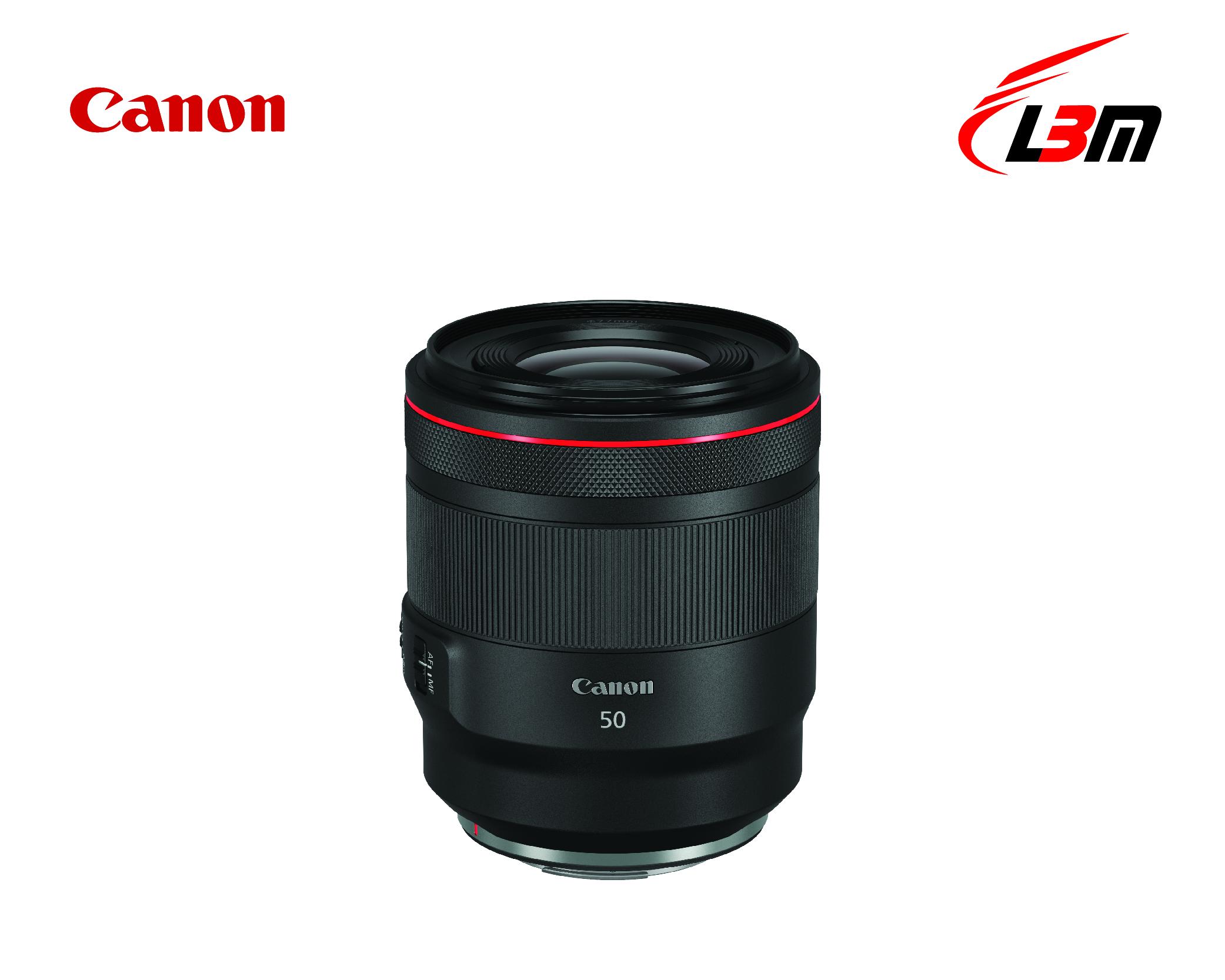 Ống kính Canon RF50mm f/1.2L USM