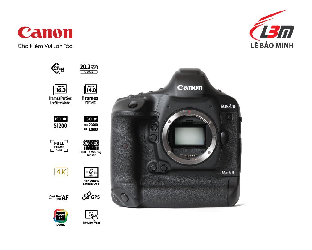 Máy ảnh Canon EOS 1DX Mk II Body