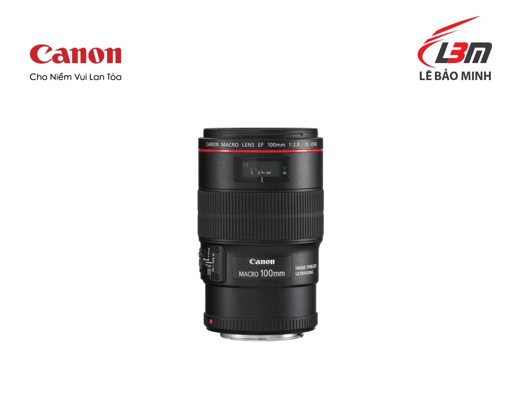 Ống kính Canon EF100mm f/2.8L Macro IS USM