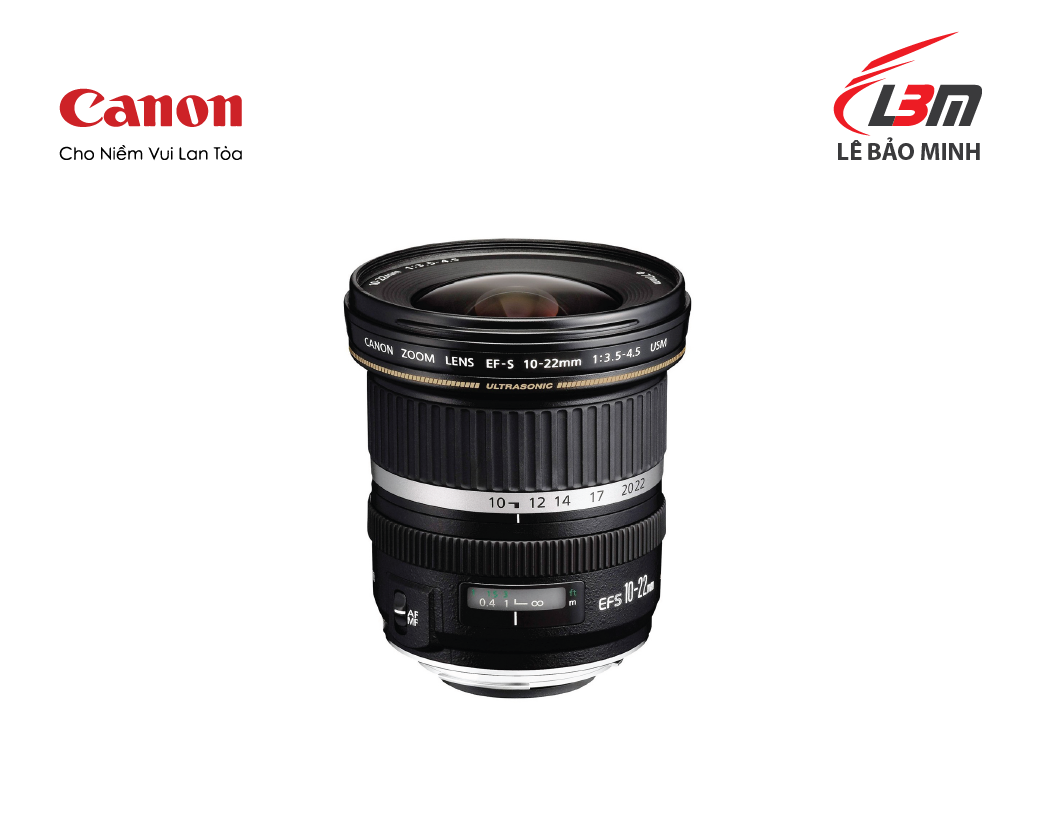 Ống kính Canon EF-S10-22mm f/3.5-4.5 USM