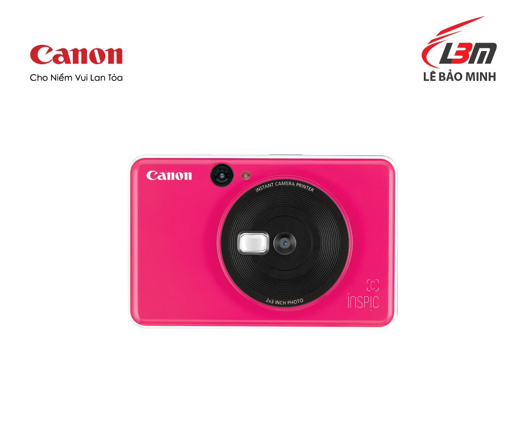 Máy ảnh Canon có in ảnh ngay CV-123 (hồng, vàng, xanh)