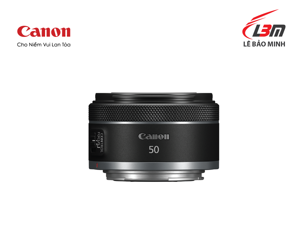Ống kính CANON RF50mm f/1.8 STM