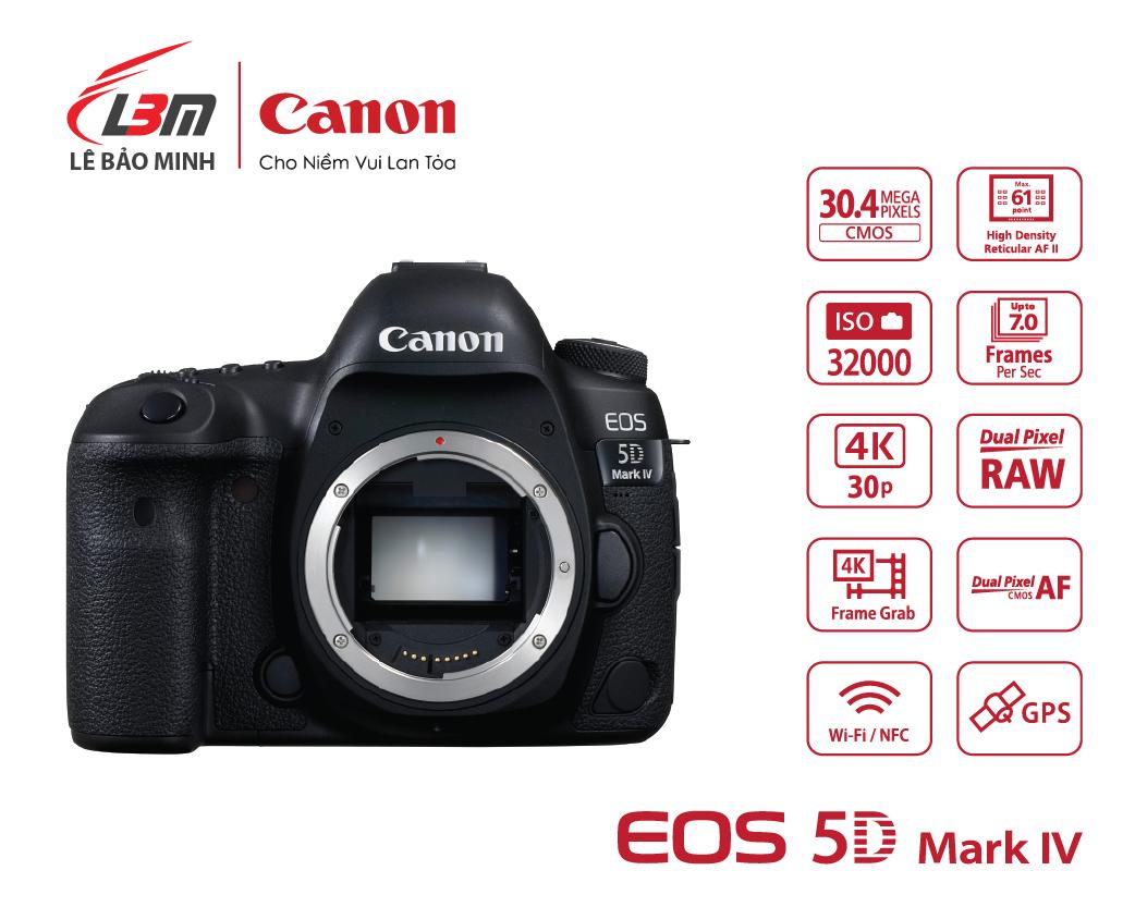 Máy ảnh Canon EOS 5D Mk IV Body