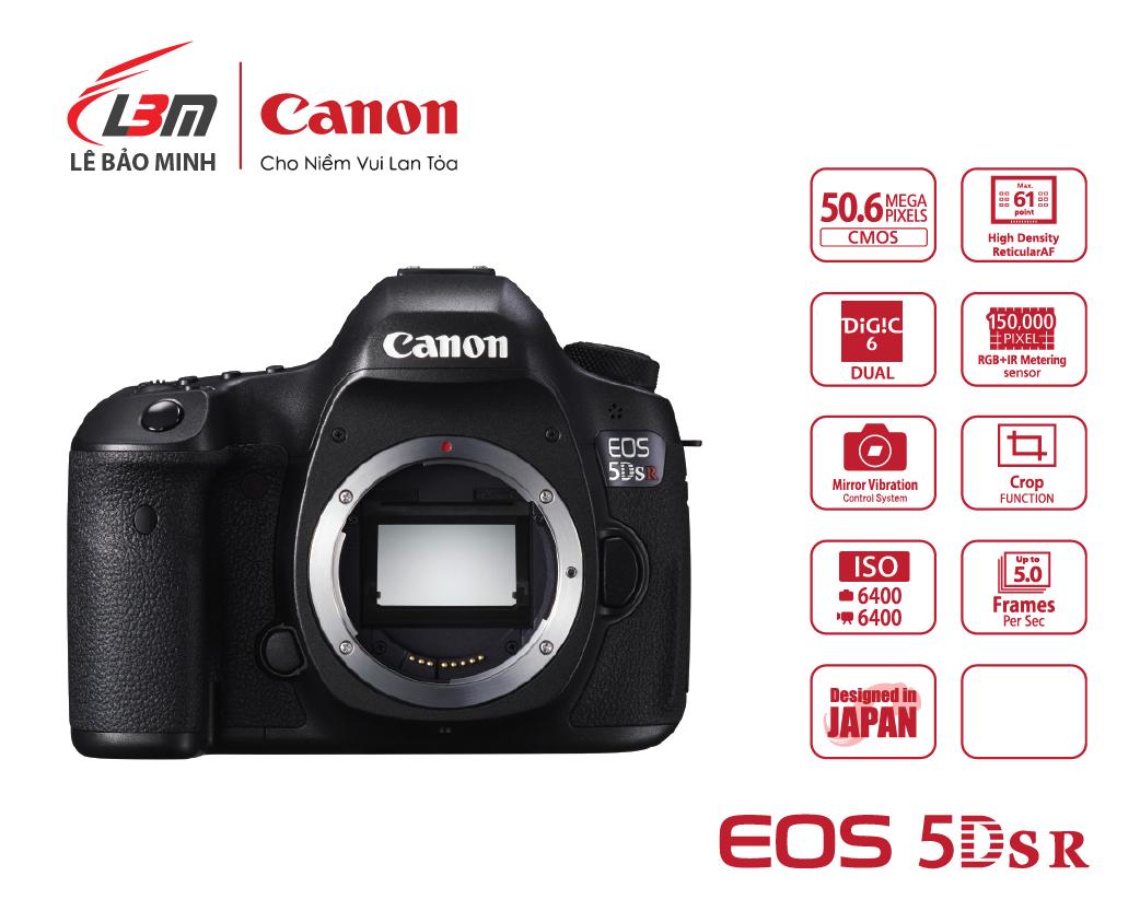 Máy ảnh Canon EOS 5DS R Body