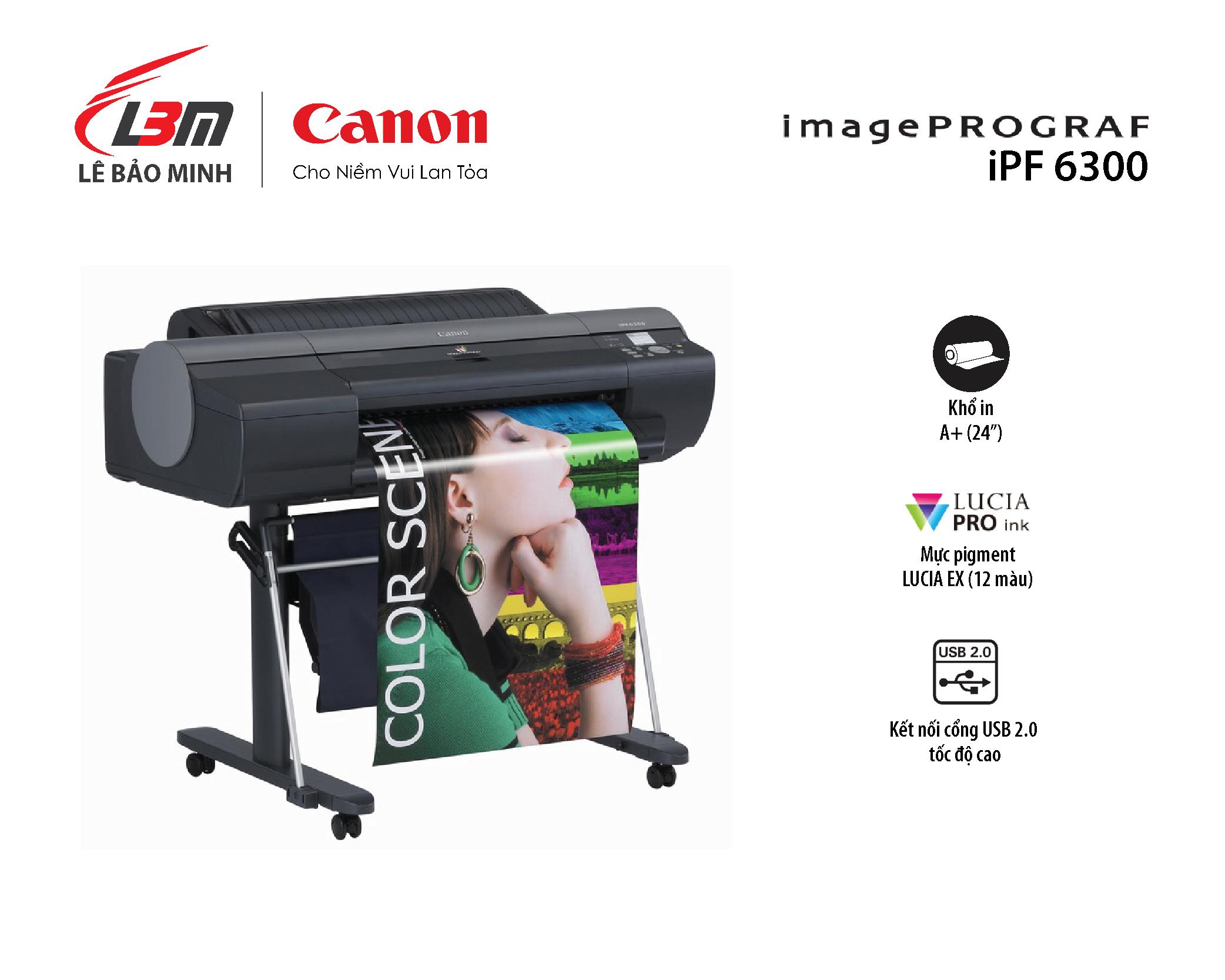 Máy in iPF 6300