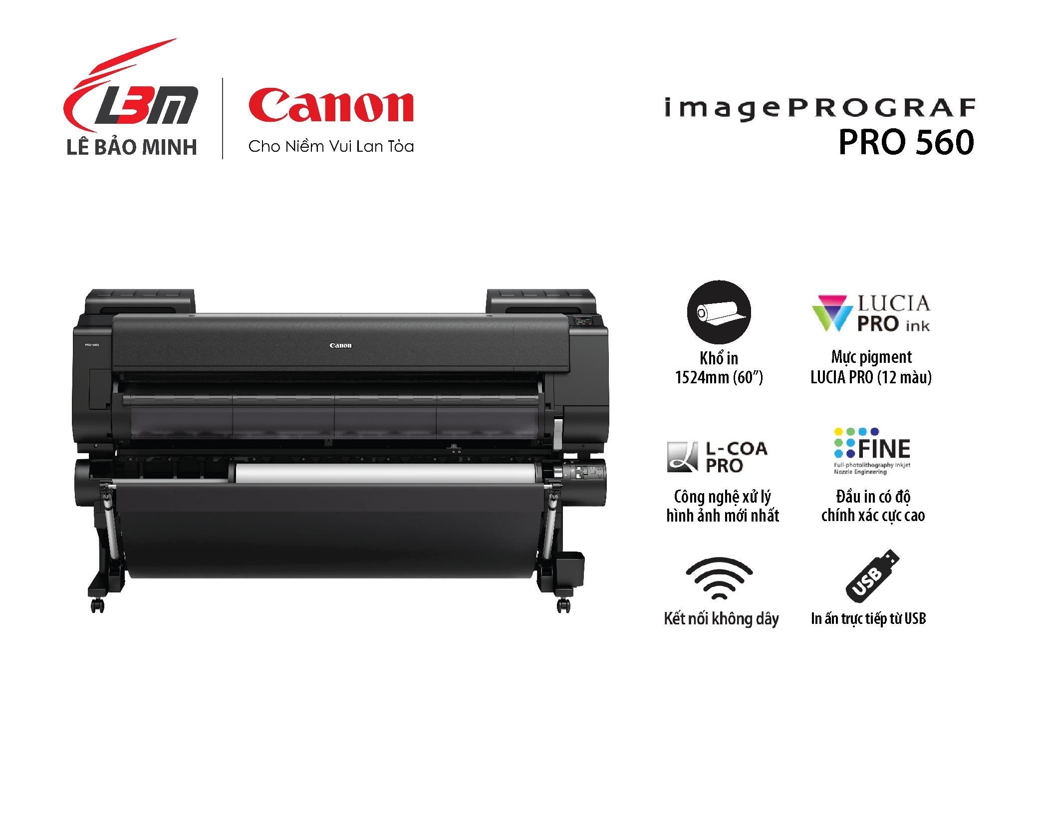 imagePROGRAF PRO-560 (12 màu mực)