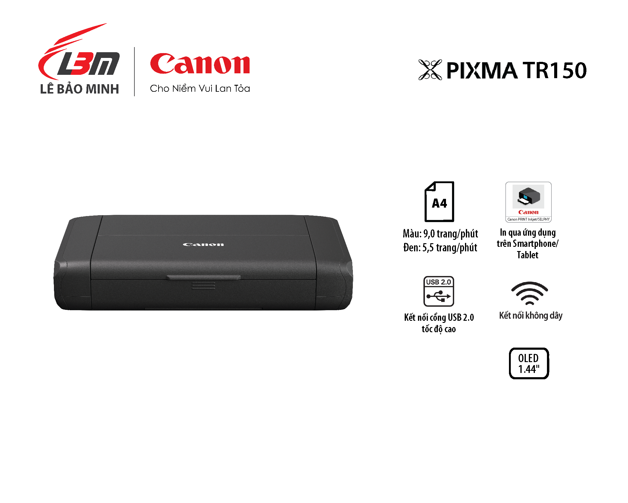 Máy in phun Canon TR150