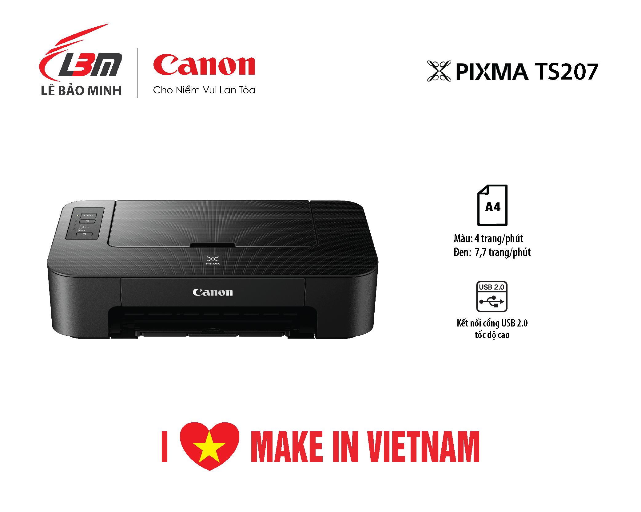 Máy in phun Canon TS207
