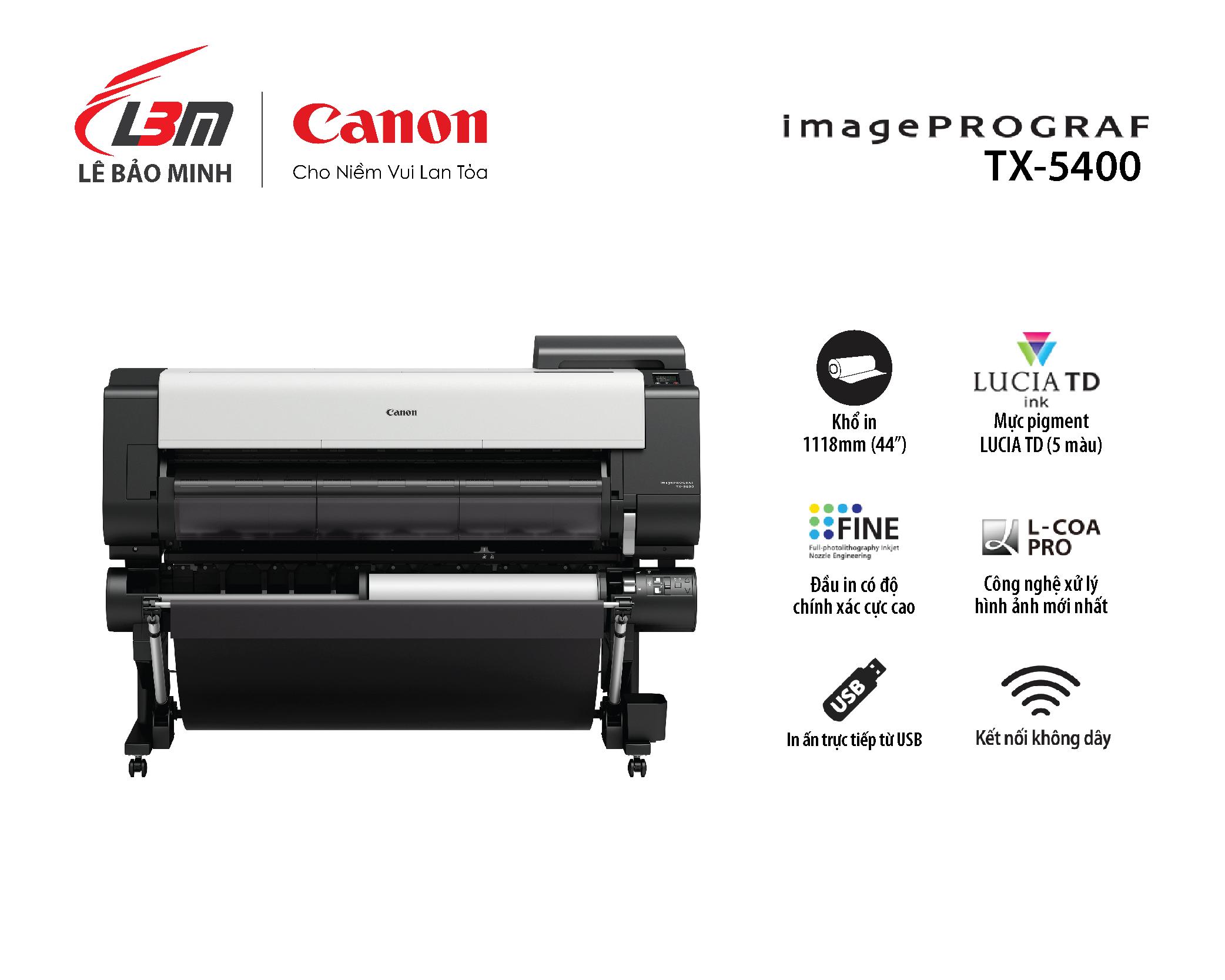 imagePROGRAF TX-5400 MFP T36