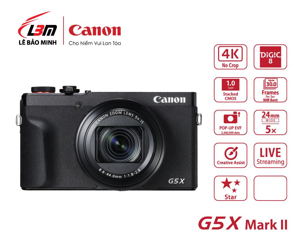 Máy ảnh Canon Powershot G5X Mk II