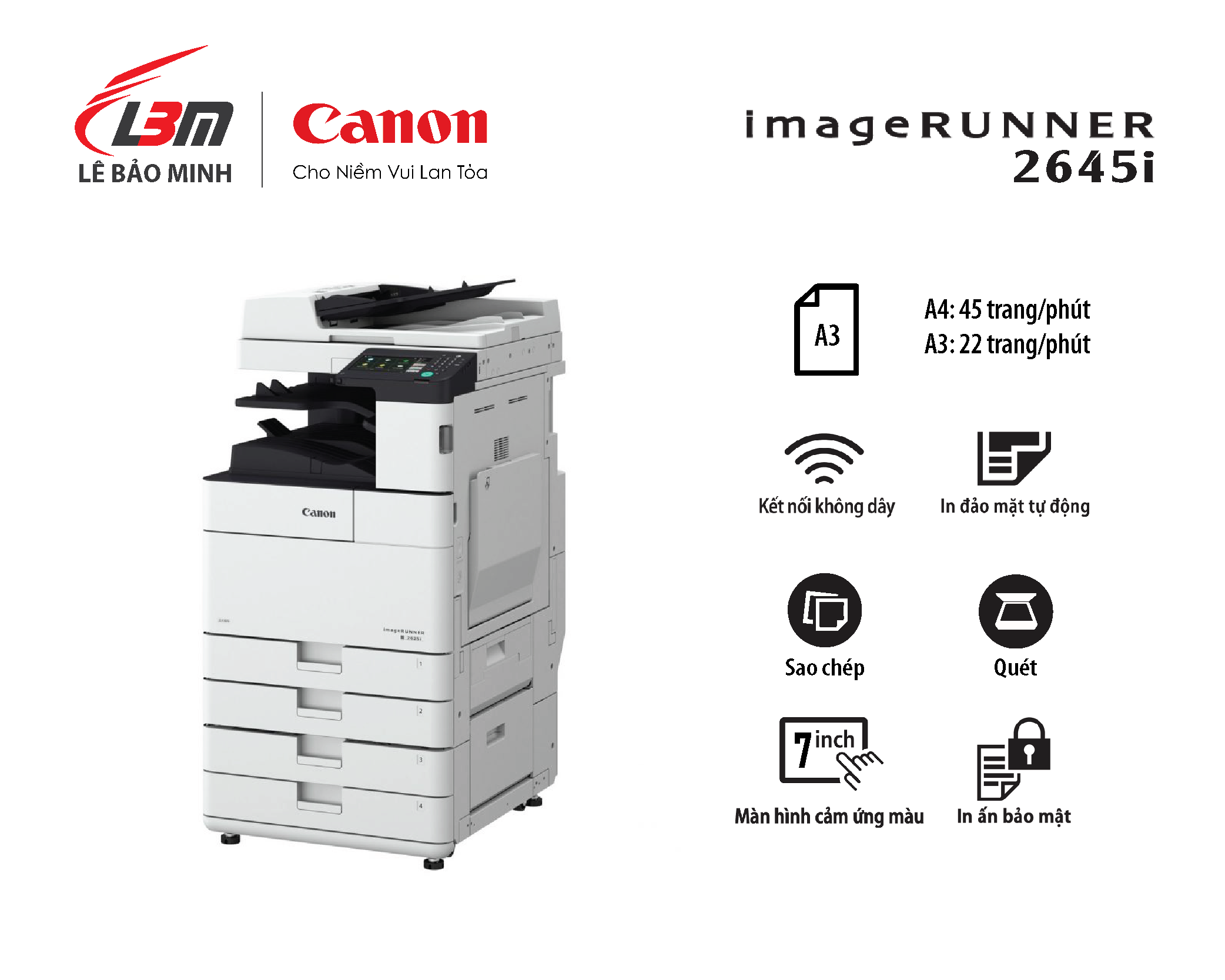 Photocopy iR 2645i