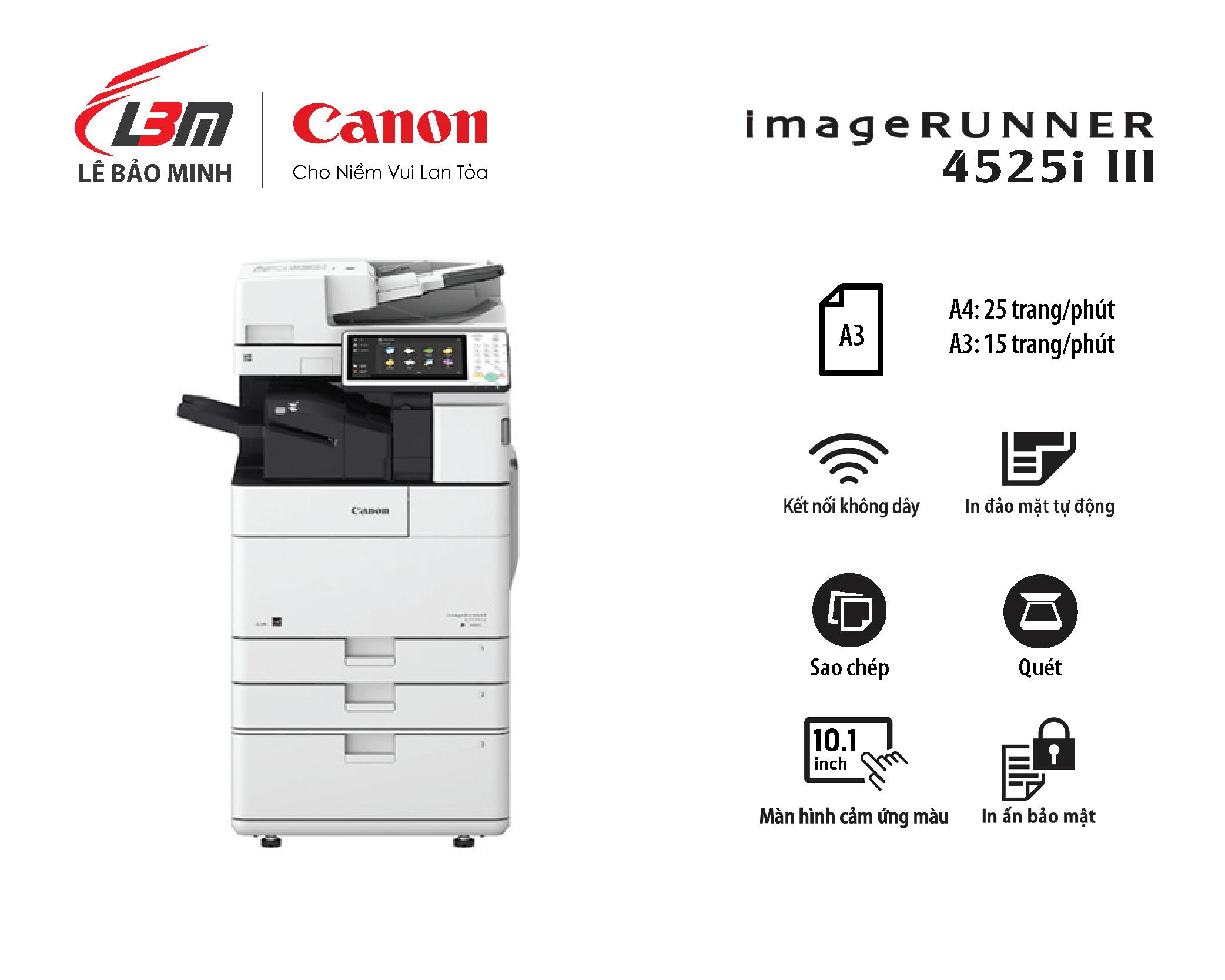 Photocopy iR 4525i III