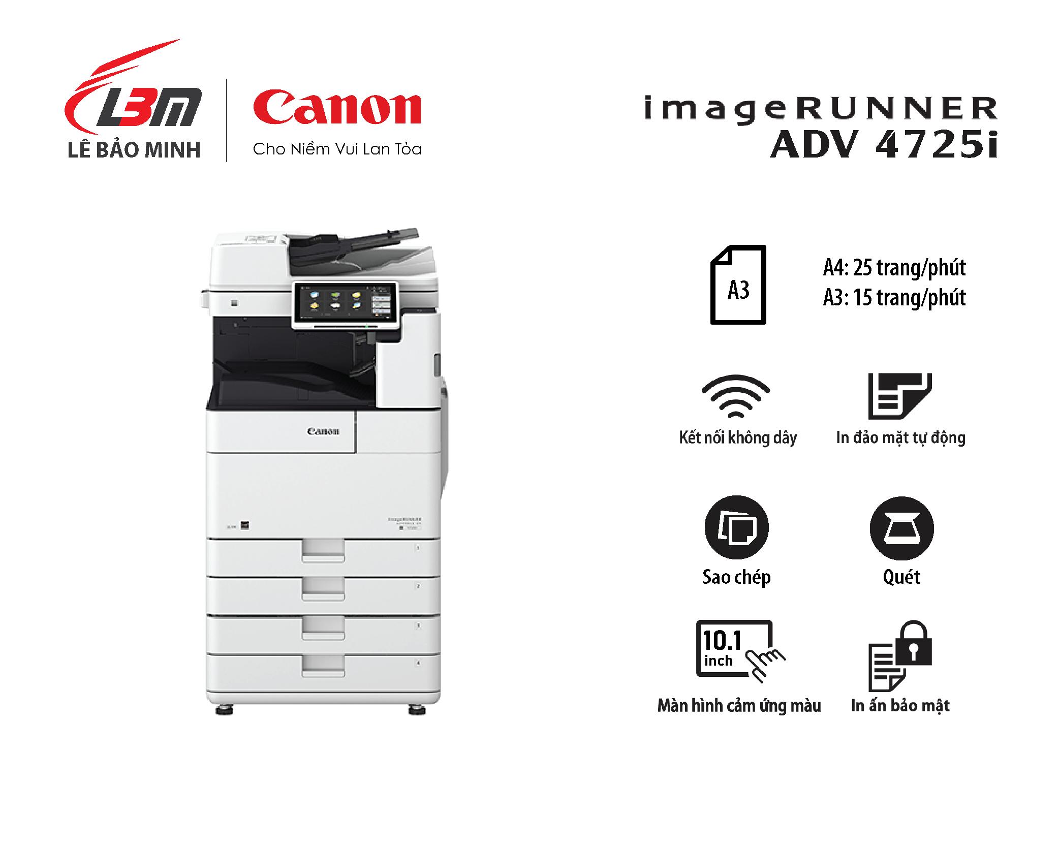 Photocopy iR-ADV DX 4725i