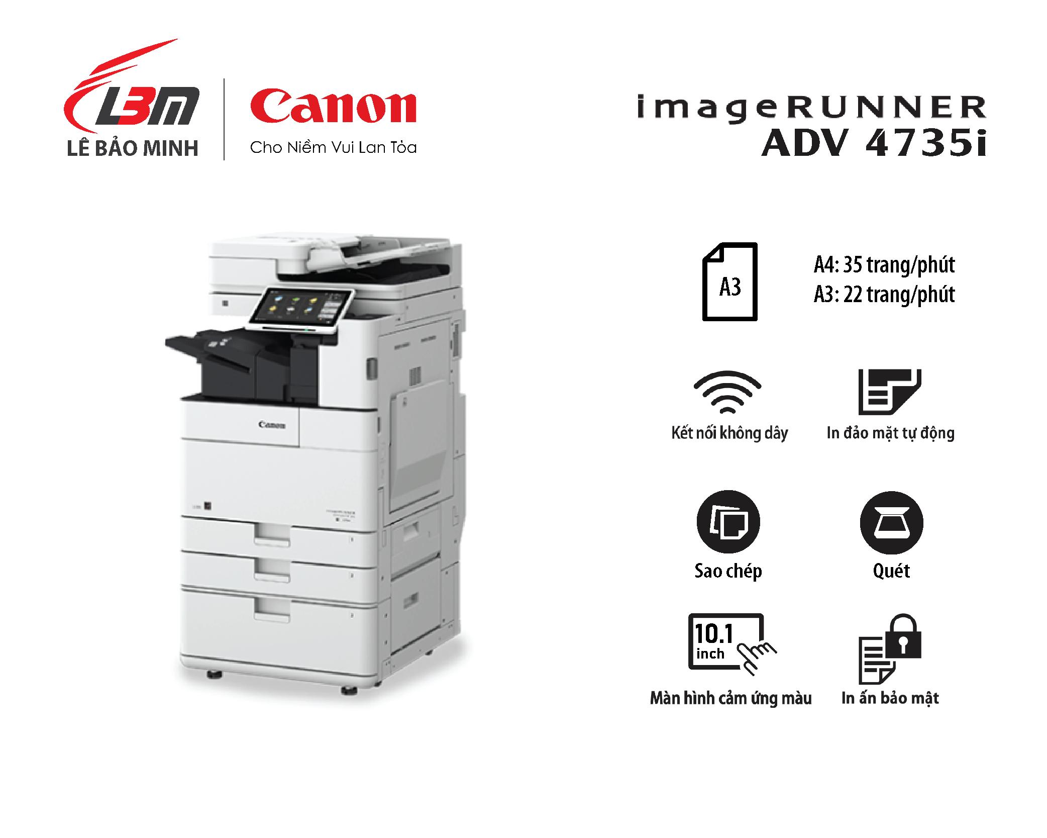 Photocopy iR-ADV DX 4735i