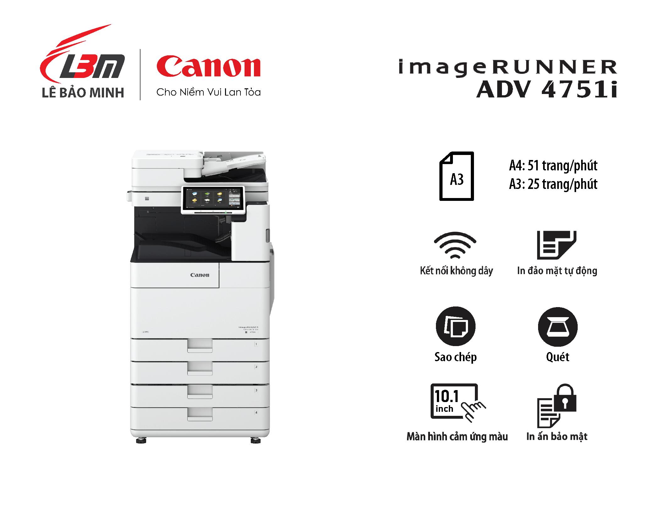 Photocopy iR-ADV DX 4751i