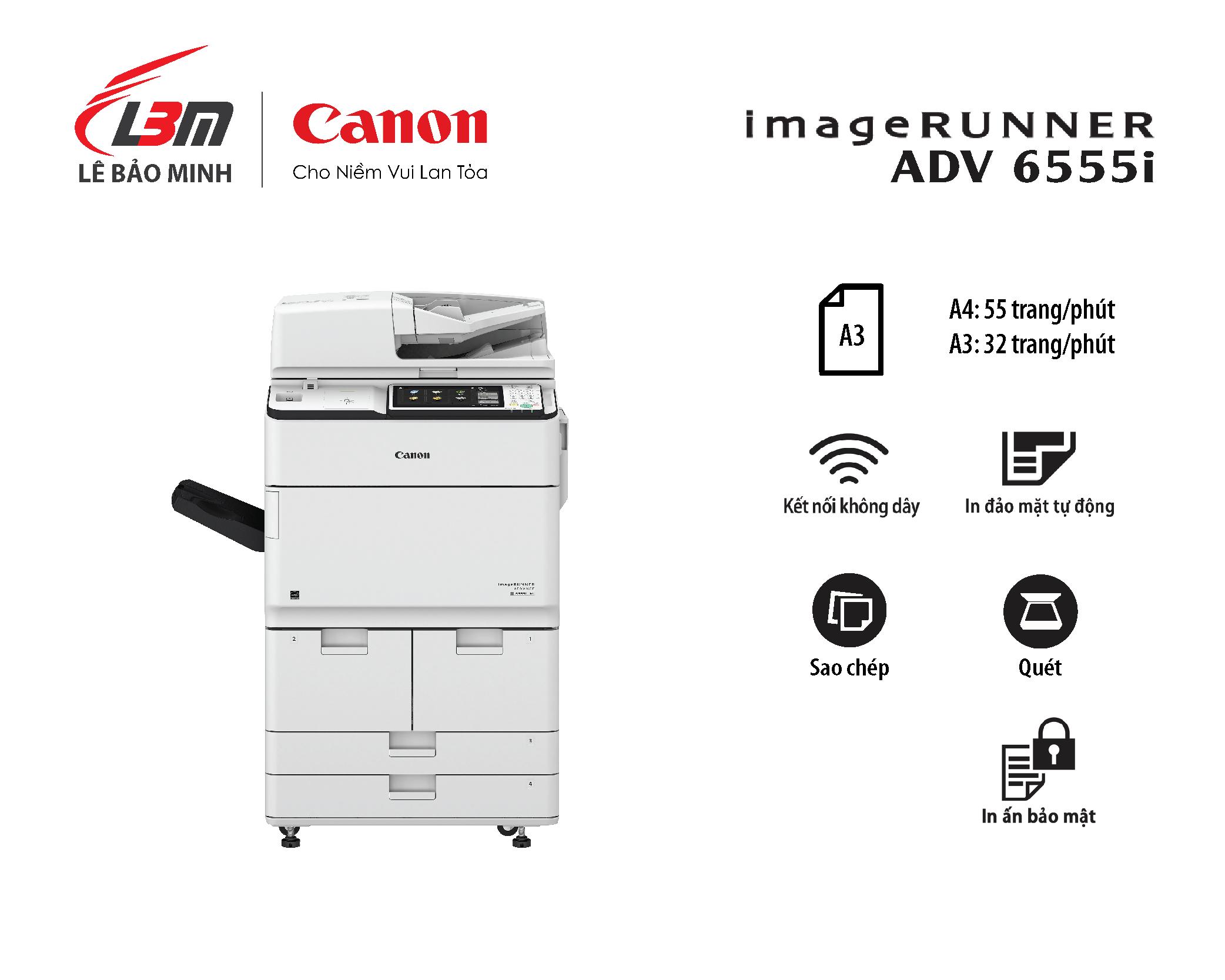 Photocopy IR ADV 6555i