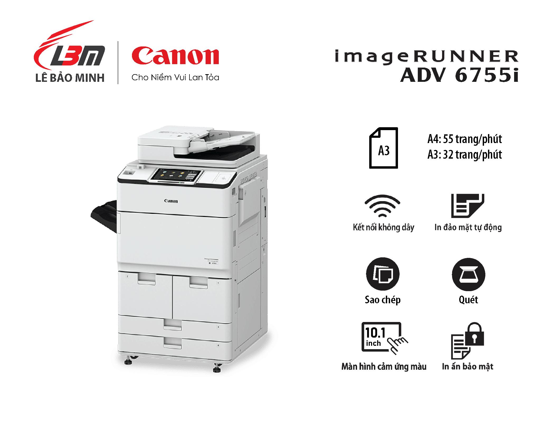 Photocopy iR-ADV DX 6755i