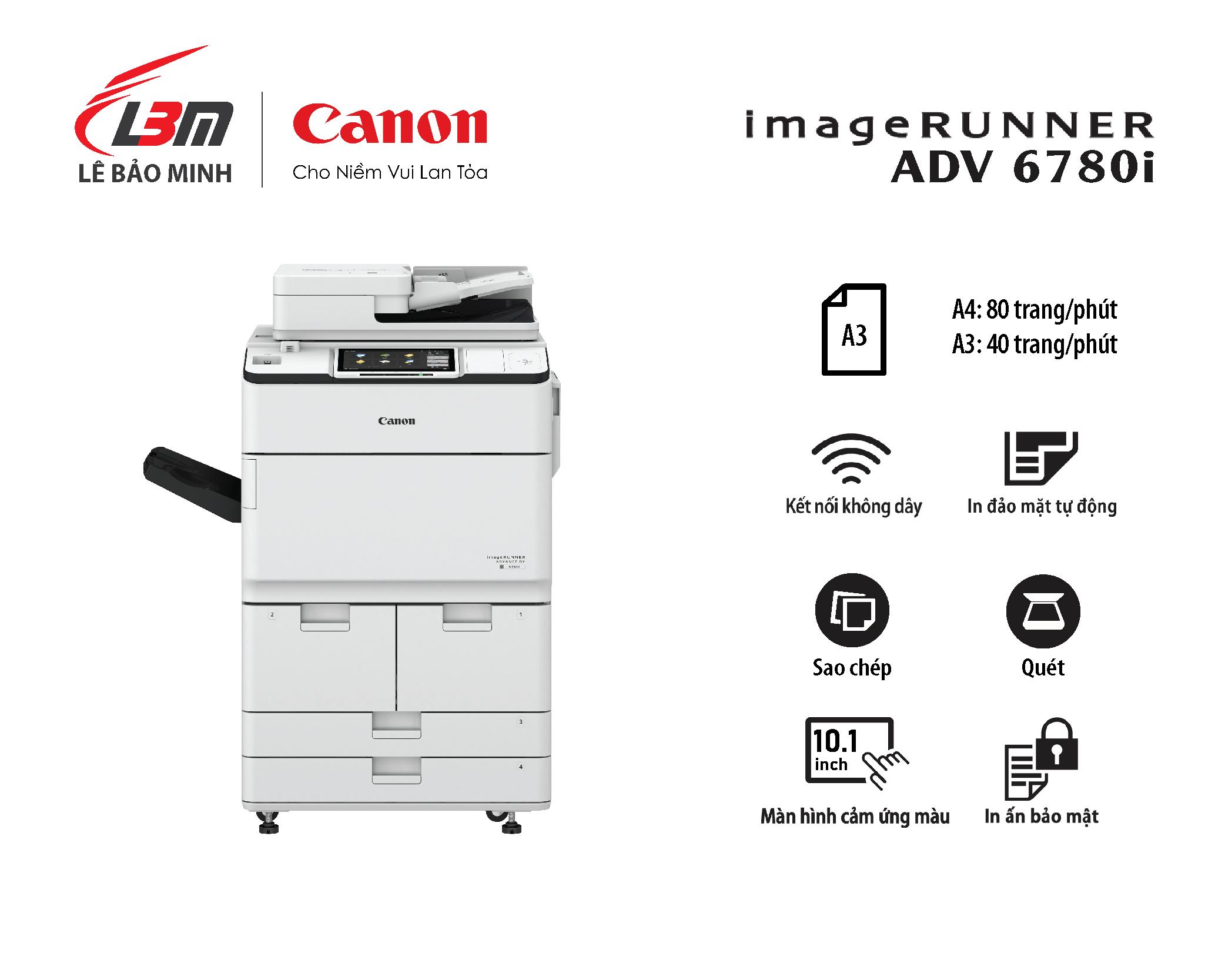 Photocopy iR-ADV DX 6780i