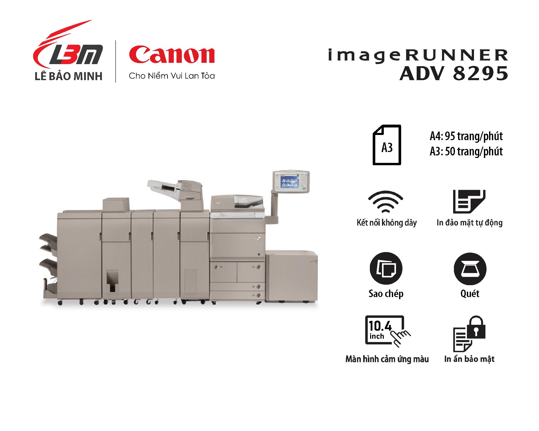 Photocopy iR ADV 8295