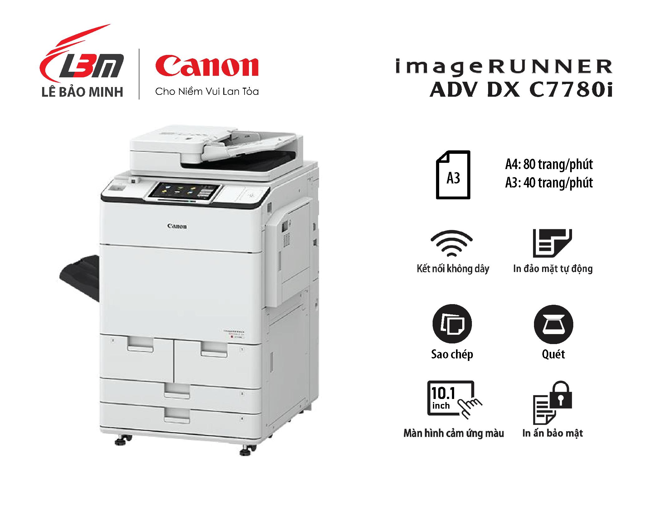 Photocopy iR-ADV DX C7780i
