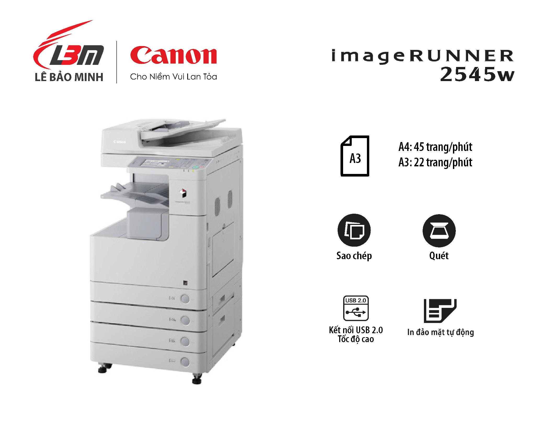 Photocopy iR 2545w
