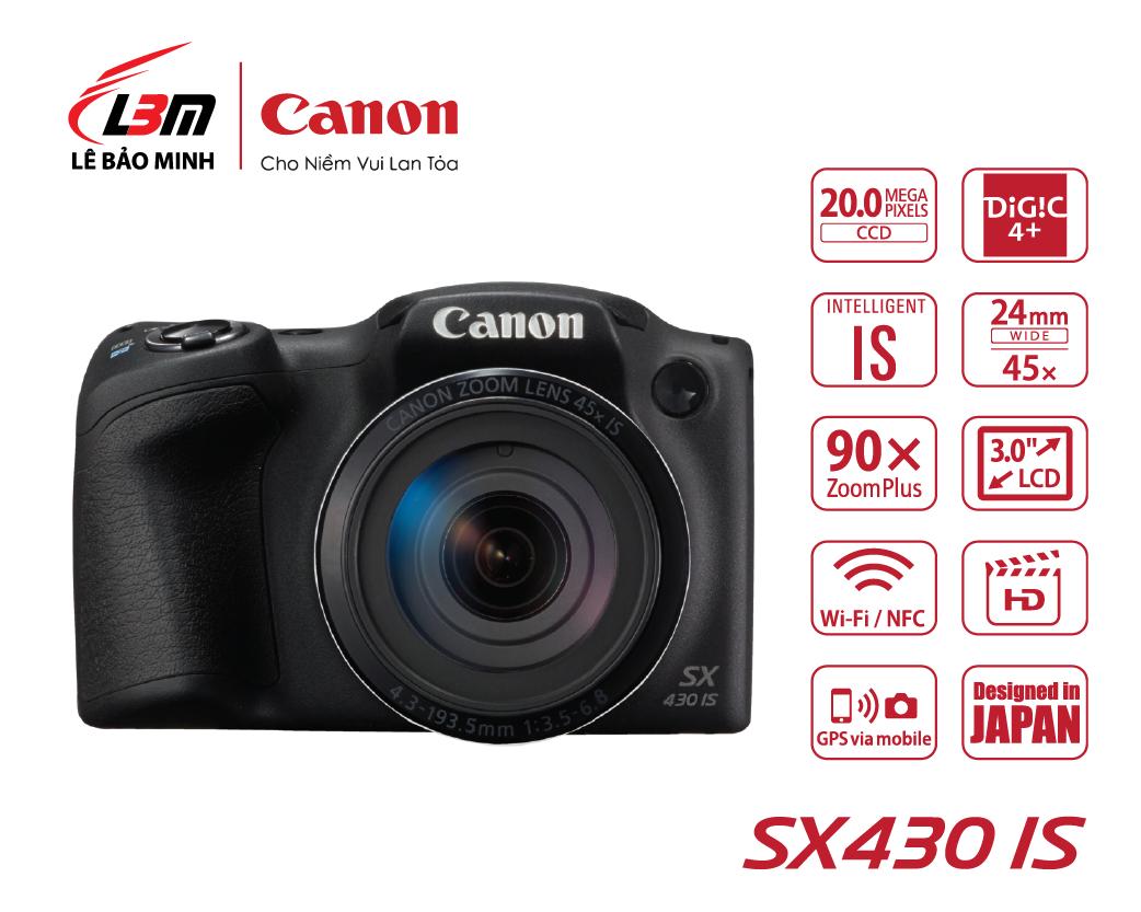 Máy ảnh Canon Powershot SX430IS