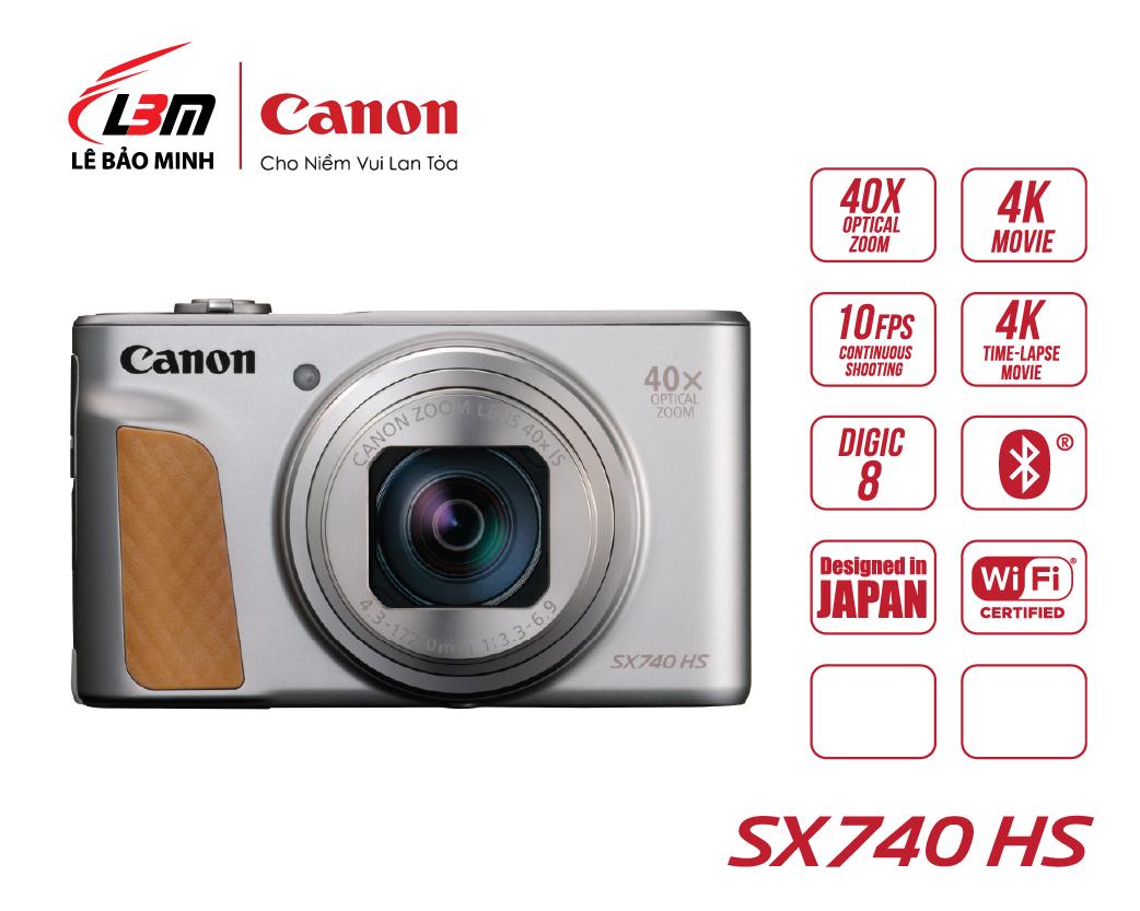 Máy ảnh Canon Powershot SX740HS