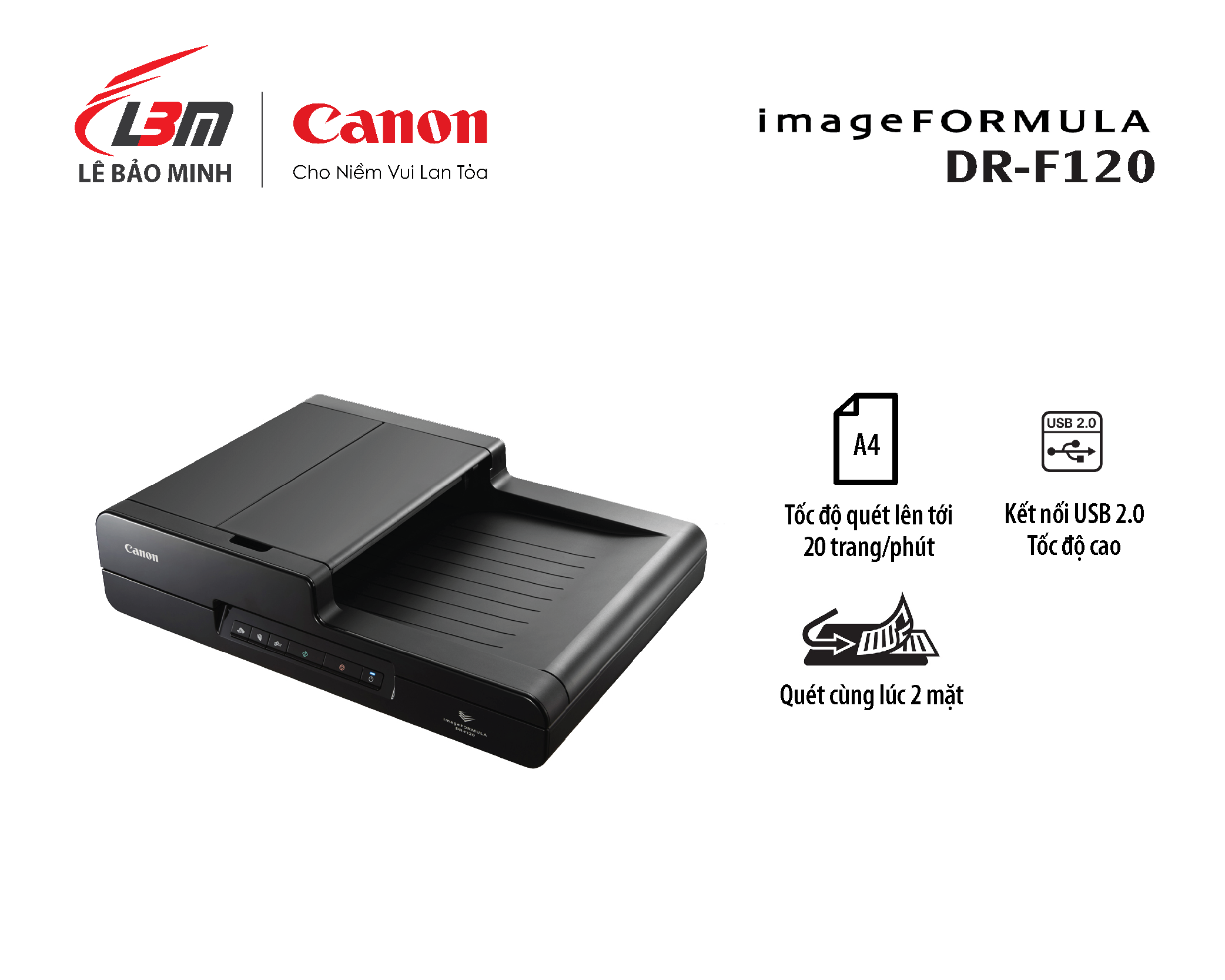 Scan Canon DR-F120