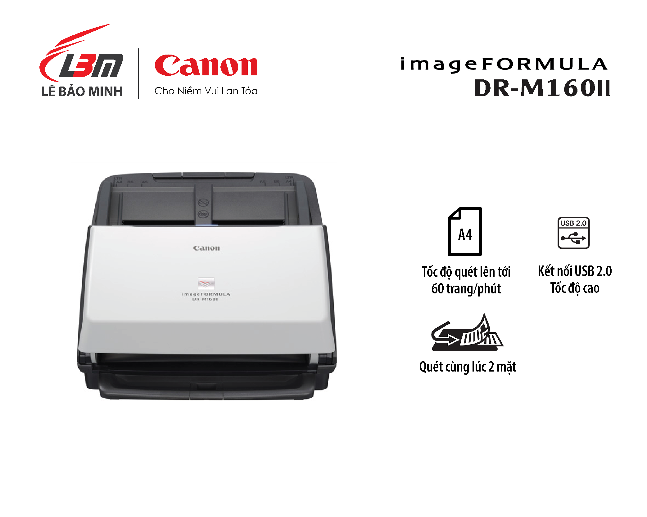Scan Canon DR M-160II