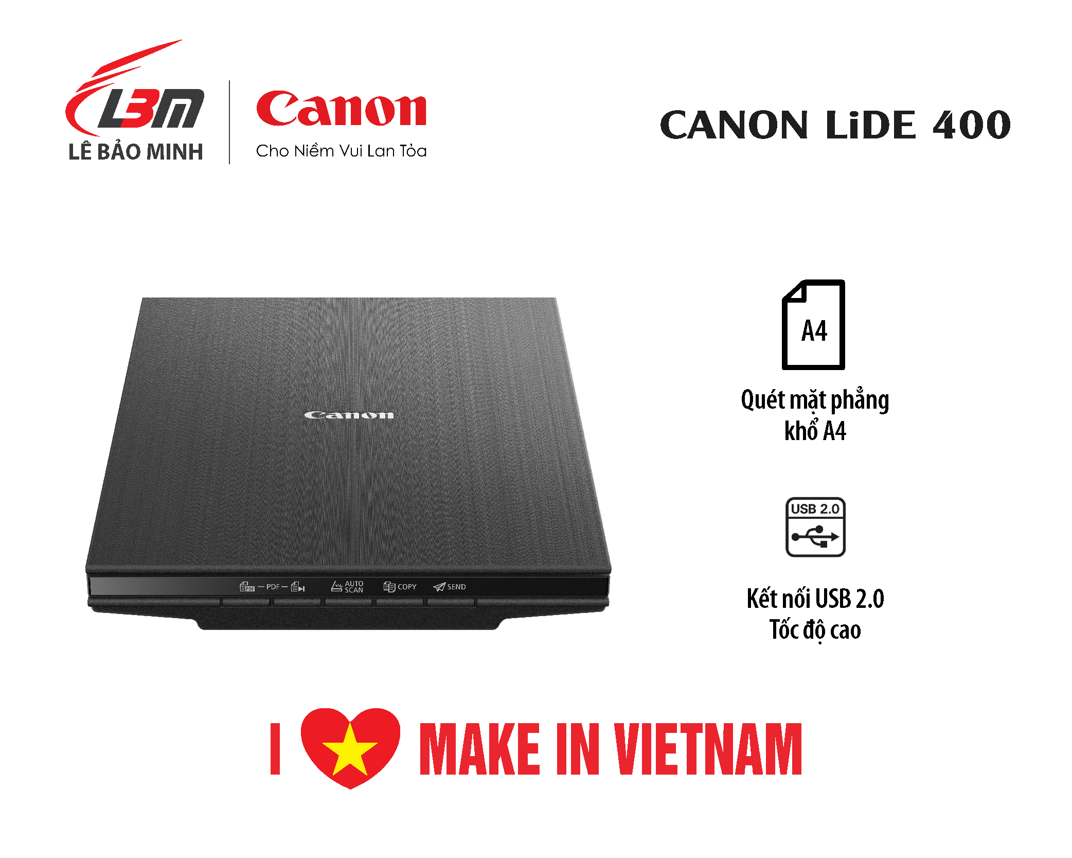 Scan Canon Lide 400