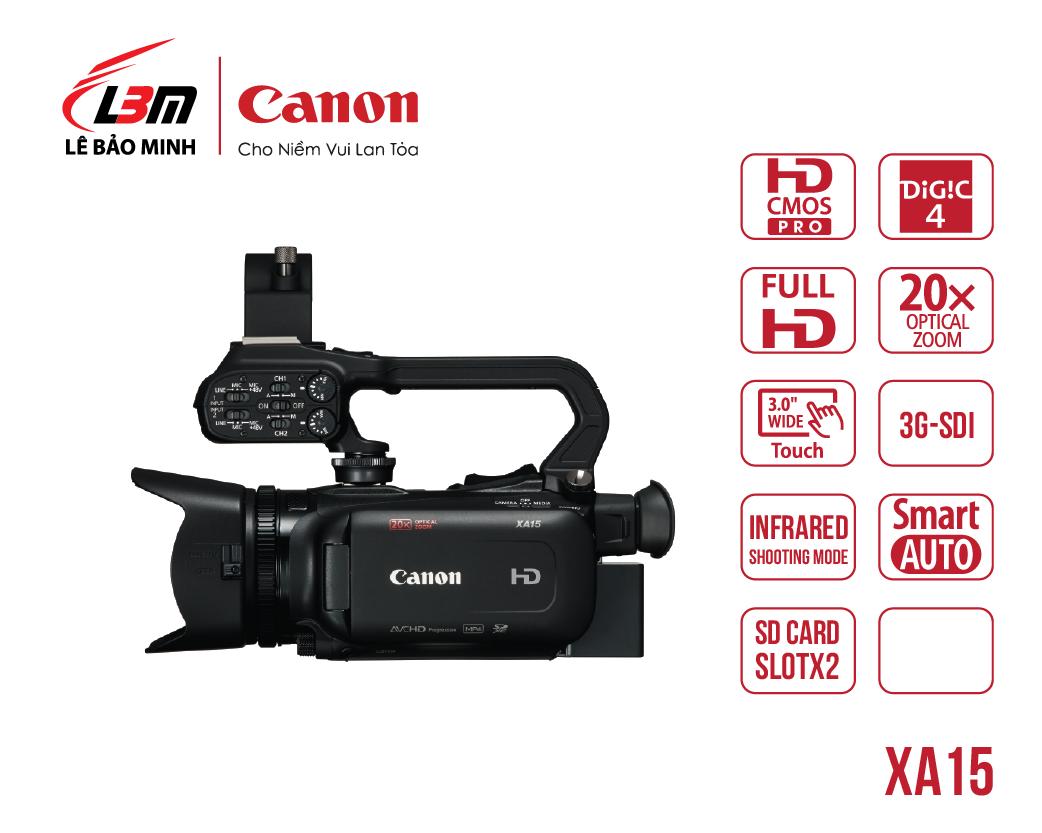 Máy quay Canon XA15