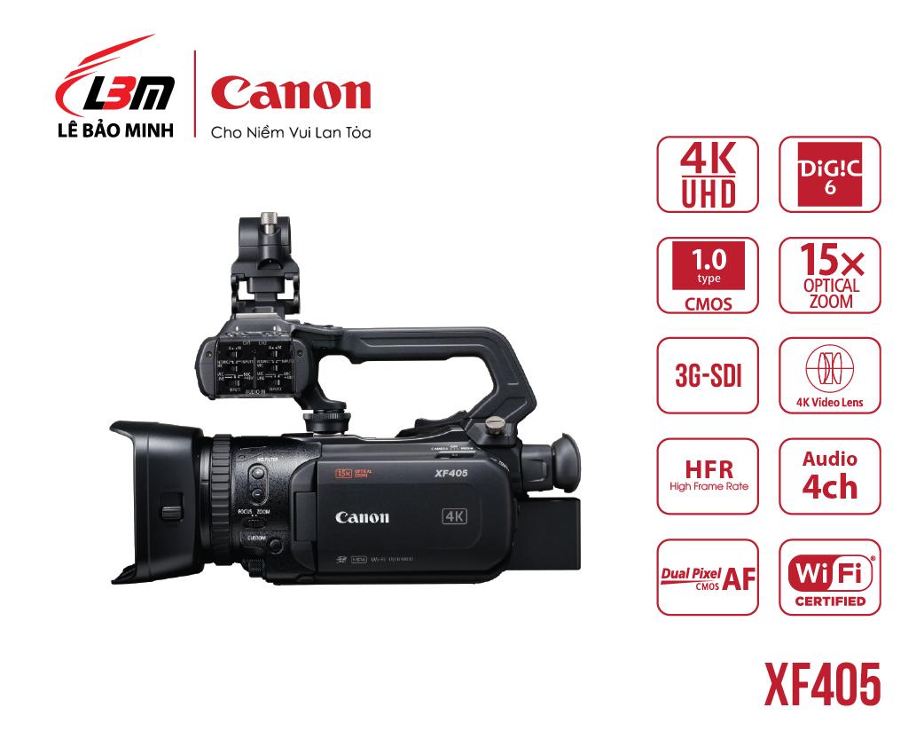Máy quay Canon XF405