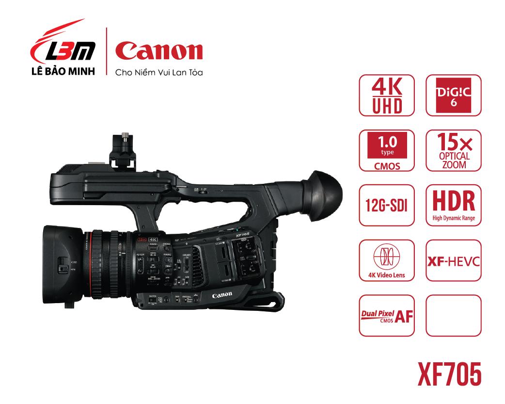 Máy quay Canon XF705